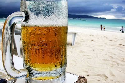 Beer-at-the-beach