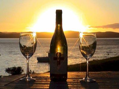 spanish wine sun