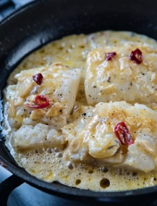 buenvino salt cod with chilli and garlic