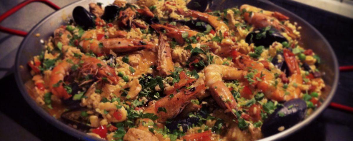 steven saunders real paella
