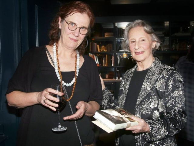 Vicky Hayward winner of the Jane Grigson Trust Award  and Geraldene Holt Chair of Judges