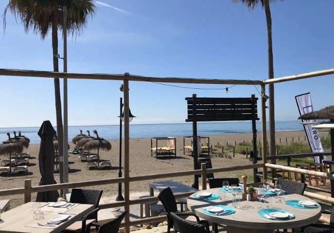 Claro Beach Club, one of the coolest spots to head for on Estepona's coast