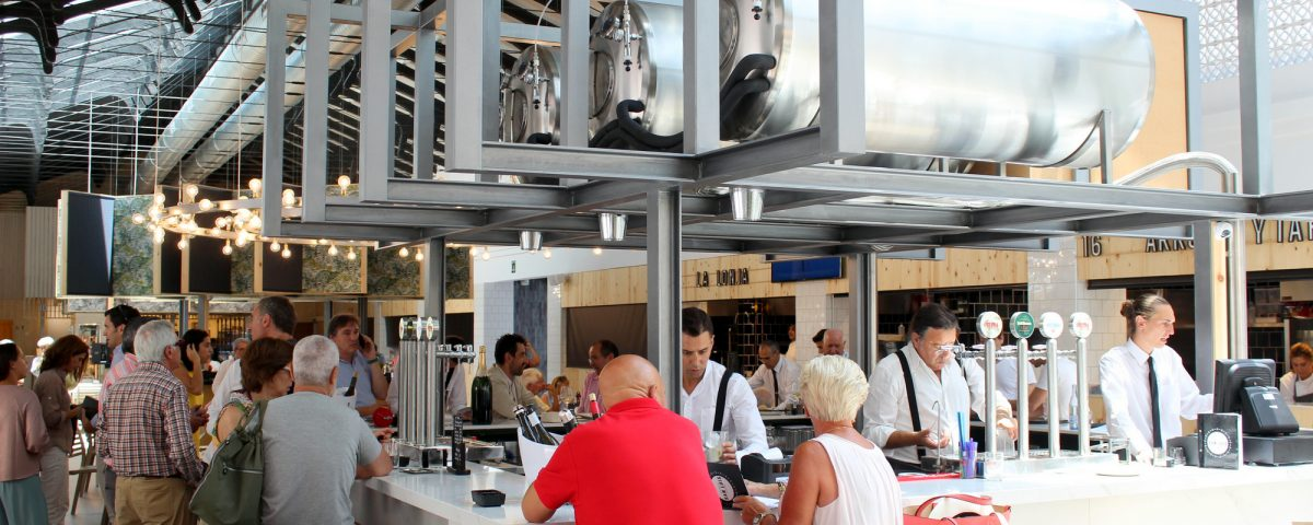 food market opens on Spain's Costa del Sol